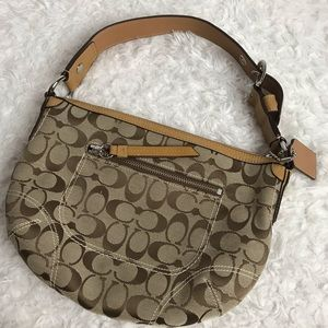 Coach Soho Signature Handbag F13114